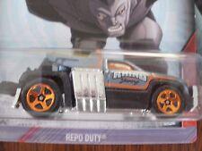 Hot Ruedas Marvel Ultimate Spiderman coche Rhino