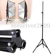 "240cm 7.8"" Light Stand Aluminum Foldable Tripod for Photo Studio Video Flash"