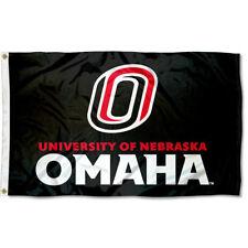 University of Nebraska Omaha Mavericks Flag UNO Mavs Large 3x5