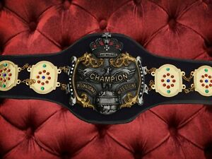Old NWA International Heavyweight Wrestling Champion Belt Triple Crown Japan Pro