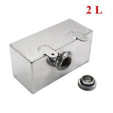 RONDELLA IN ALLUMINIO DA 2 LITRI Bottiglia in Alluminio Lega Lucidato Intercooler a spruzzo serbatoio