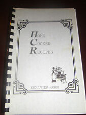 Home Cooked Recipes by Knollview Manor Michigan? Spiral Community No Year