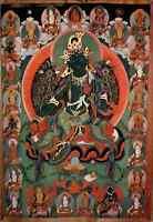 Mongolia Postcard Mongolei Postkarte Syama-Tara Painting Art Postcard ungelaufen