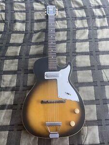 Harmony Stratotone Electric Guitar Ca Mid-1960's