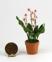 Dollhouse Miniature Easter Lily Plant Bright Delights
