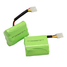 2pcs NI-MH 7.2V 4500mAh Rechargeable Battery For Neato XV-11 12 14 15 21 28Pro