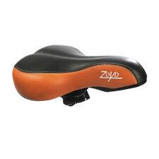 Wide Big Bum Soft Comfort Sporty Bike Bicycle Saddle Spring Seat Cushion Orange