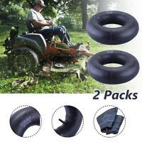 2Pcs 15x6.00-6 Inner Tubes TR13 Straight Valve Stem Lawn Riding Mower Tire