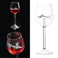Home Original Shark Red Wine Glass-Handmade Crystal For Party Flutes Glass