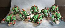 8 Orks Painted Mini Chibi Arcadia Quiest D&d pathfinder