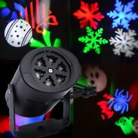 Mini LED Projector Christmas Moving Laser Projection Outdoor Indoor Light @rui69