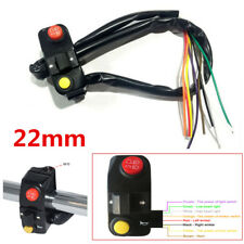 "7/8"" Motorcycle Handlebar Mount Switches Horn Headlight Turn Signal Light Switch"