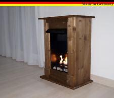 Ethanol Firegel Fireplace Camino Madrid Deluxe Oak + 1 Stainless Steel Burner