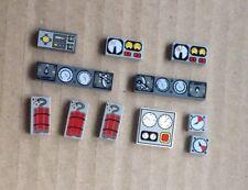 LEGO RICAMBI/PEZZI LEGO 10 x Piastrelle Treno Acceleratore/sagome/Dynamite/Mining