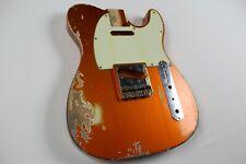 MJT Official Custom Vintage Age Nitro Guitar Body Mark Jenny VTT Candy Tangerine