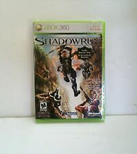 NEW Shadowrun Microsoft XBOX Live 360 Brand New Sealed Shadow Run