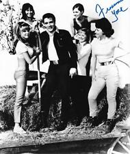 FRANCINE YORK SIGNED 8X10 PHOTO W/ ELVIS PRESLEY IN MOVIE AUTOGRAPH