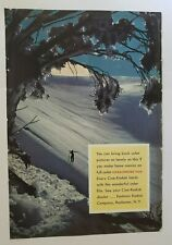 Vintage PRINT AD from National Geographic KODAK  MOVIE CAMERA Mid Century