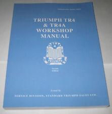 Werkstatthandbuch Triumph TR4 + TR4A, Baujahre 1961-1967