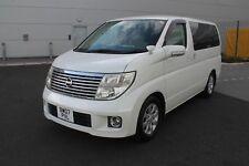2007 NISSAN ELGRAND 3.5 V6 NE51 2/4WD FACELIFT WHITE 8 SEATS FRESH IMPORT CAMPER