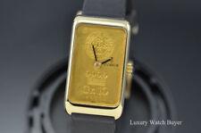 Corum 10 Gr Ingnot 24K 999.9 Gold Bar UBS Union Bank of Switzerland Manual Wind
