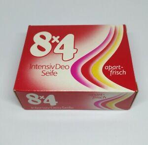 8x4 Seife 1980 Intensiv Deo Seife 150 g Beiersdorf rare selten Vintage
