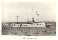 """France, Marine Militaire Française, Croiseur Cuirassé """"Sfax"""" vintage print, Croi"""
