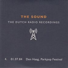 THE SOUND The Dutch Radio Recordings 4. 01.07.84 Den Haag, Parkpop Festival CD