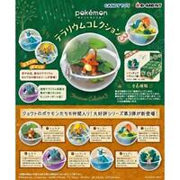 Pokemon Terrarium Collection 3 Complete Set of 6 Shokugan Figure/Gum