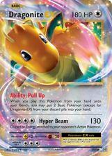 Dragonite EX 72/108 Evolutions - Near Mint Ultra Rare Pokemon Card