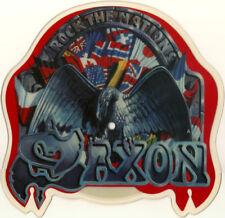 Saxon - Shaped Pic Disc-  Rock The Nations - 1986 EMI EMIP 5587- UNPLAYED