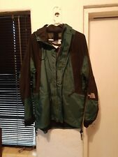 Vintage 90s North Face Goretex Mountain Parka Jacket Size XL Green
