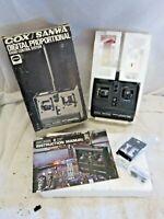 Cox / Sanwa Digital Proportional Radio Control System 80201 - 2 Channel System