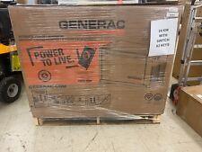 Generac Guardian 24,000 Watt Air-Cooled Standby Generator with WiFi w/Switch Box