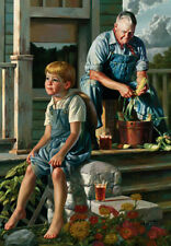 """BOB BYERLEY """"The Greatest Story Teller"""" 17"""" X 24""""  SIGNED & No. ARTIST PROOF"""