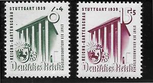 #0692# Deutsches Reich 1939: Gartenschau, Nr. 692-693 (Satz) postfrisch **