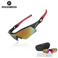 ROCKBROS Outdoor Sports Cycling Sunglasses Fish Glasses Goggles One Lense
