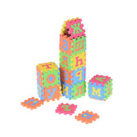 36x russe lettre alphabet jouets enfants puzzles tapis55mm nombre apprentissage