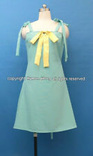 Higurashi No Naku Koro ni Rika Cosplay Costume Dress Size M