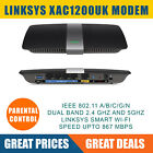 LINKSYS XAC1200 Wireless Modem Router AC 1200 Dual-band with parental control