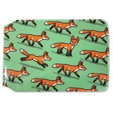AF-11JW Cute Red Fox Cubs Girls//Ladies Denim Purse Wallet Christmas Gift Idea