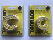 Tornado 22mm & 15mm Professional Rotary Pipe Cutters