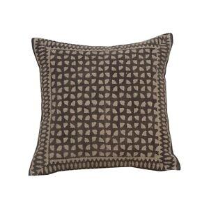 Vintage Indigo block print Cushion Cover Indian Kilim Rug Decorative Pillow 1397