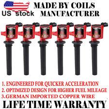 Set of 6 Ignition Coil DG500 DG513 C1458 FD502 For FORD MAZDA MERCURY 3.0L V6 US