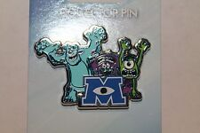 Disney 2014 Jerry Leigh - Monsters University Scare Students Sulley Art and Mike