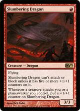 1 x MTG Slumbering Dragon - Foil Magic 2013 - Slightly Played, English