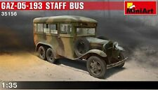 Miniart 1/35  Gaz-05-193 Staff Bus #35156  *Sealed*nEW release*