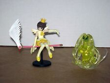 Card Captor Sakura CCS CLAMP Angel Crown + Windy Anime Trading Figure Set Lot 2