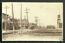 Hébertville rppc Rue Alma Cars QC Quebec Canada 1936