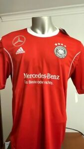 GERMANY NATIONAL TEAM DFB TRAINING JERSEY ADIDAS Z20621 MENS XL RED